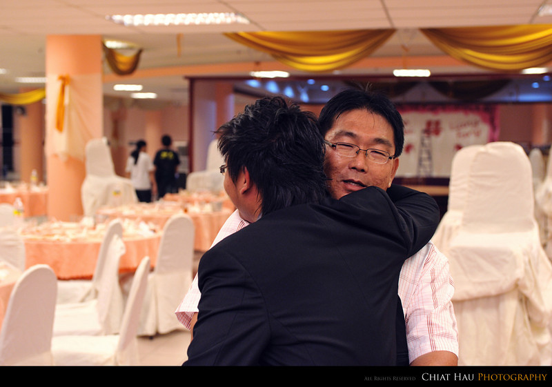 another hug from the uncle