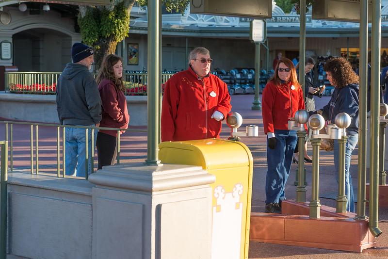 Empty Tapstiles - Magic Kingdom Walt Disney World