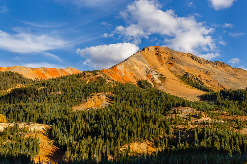 Red Mountain, as seen from the Million Dollar Highway