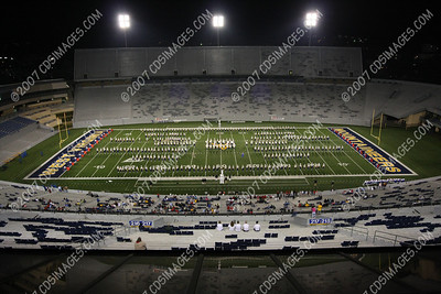 2008 Morgantown Band Spectacular - Halftime Formations