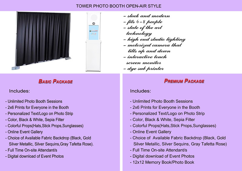 Tower Photo Photo Booth Open-air Style
