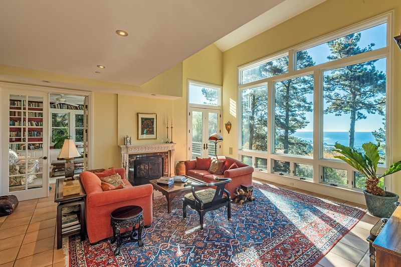 Living Room with Views of Black point