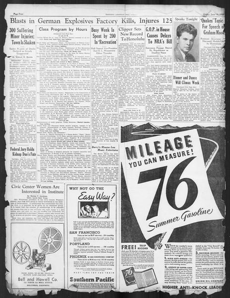 Daily Trojan, Vol. 26, No. 156, June 14, 1935