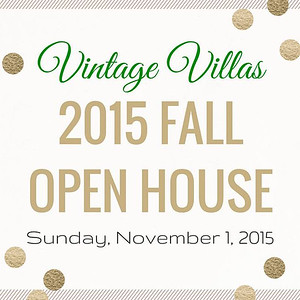 Vintage Villas Open House