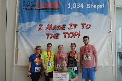 Fight For Air Climb 2017-Team Photos