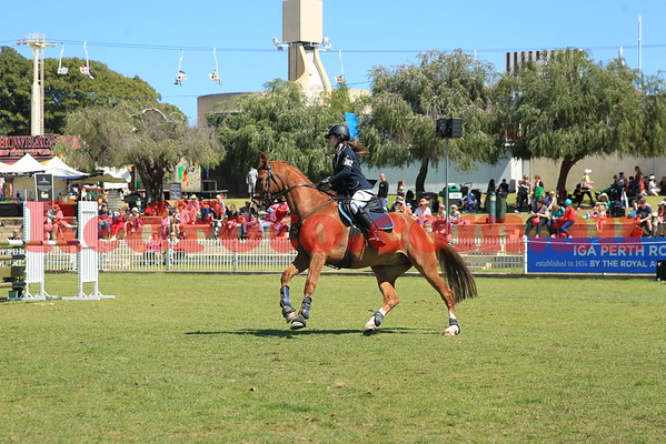 2014 09 30 Perth Royal Show ShowJumping Junior Jumper