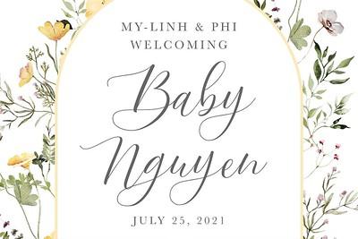 Welcome Baby Nguyen 7/25/21