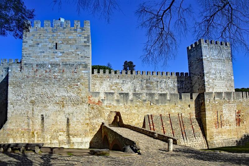 3 days in Lisbon Portugal Castle