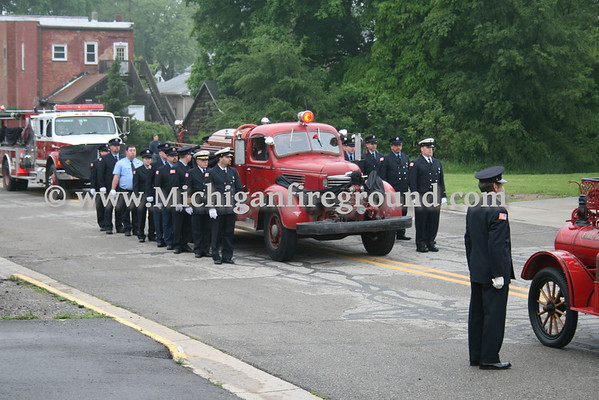 5/22/10 - Leslie Fire Chief Mike Fancher funeral services