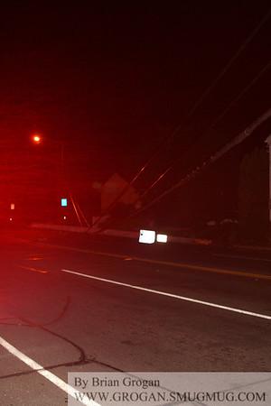 Car into House Ocean Ave 10/3/11