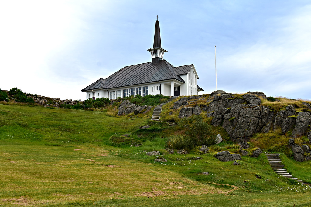 Hólmavík church, West Fjords Iceland