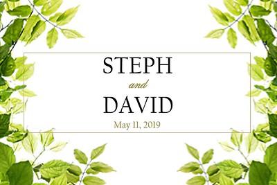 2019-05-11 Steph & David
