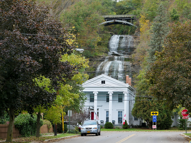 She-Qua-Ga Falls in Montour Falls, New York