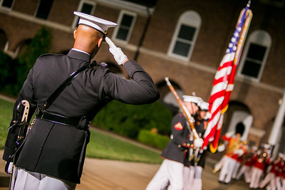 Honor Flight Houston  Marine Barracks