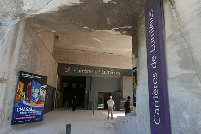 CHAGALL - carrière de lumières (Les Baux-de-Provence)
