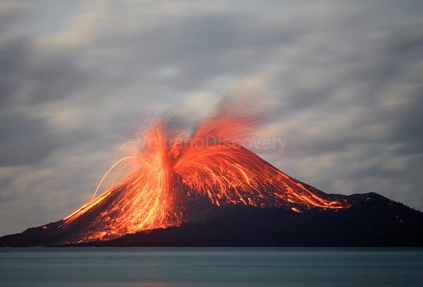 Krakatau volcano, Indonesia