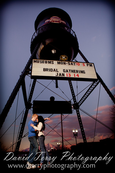 Ogden Union Station - Old Fashioned Engagements - David Terry Photography