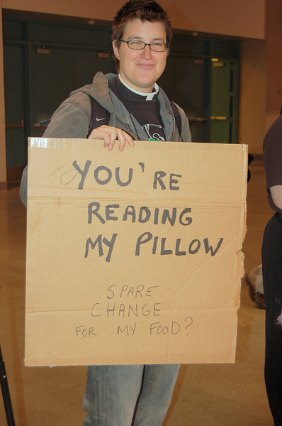 Pr. Megan Rohrer, homelessness activist from San Francisco