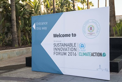 Sustainable Innovation Forum 2016 at COP22 in Marrakech