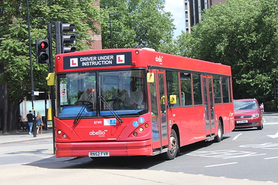 Abellio London Driver Training Vehicles