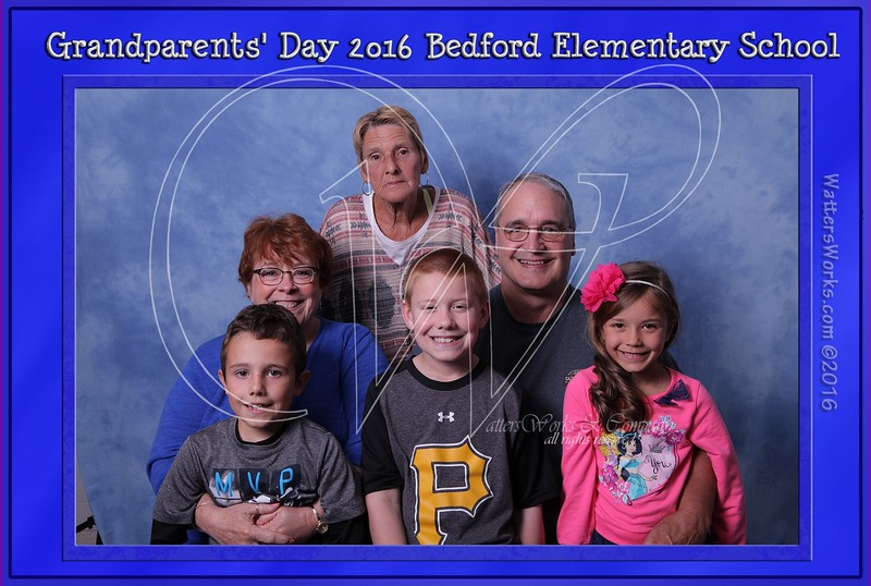 Bedford Elem Grandparents Day 5/5/16