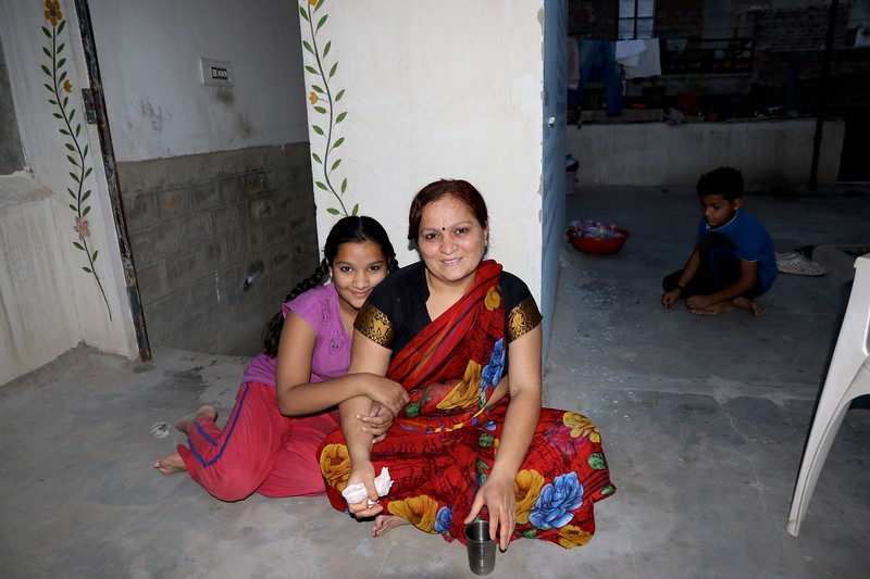 Rekha and her family - Incredible Krishna Cooking Class - Jodpur