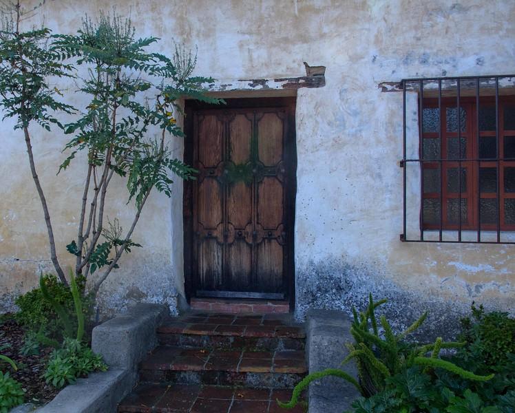 Monastary doors