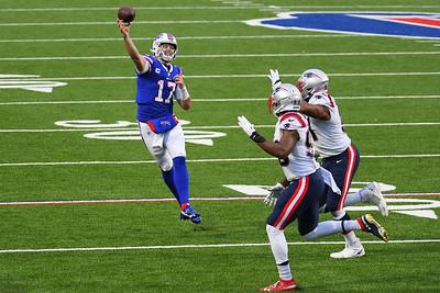 NFL: Patriots at Bills; 11/1/20