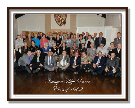 Bangor High School  Class of 1962 50th Reunion