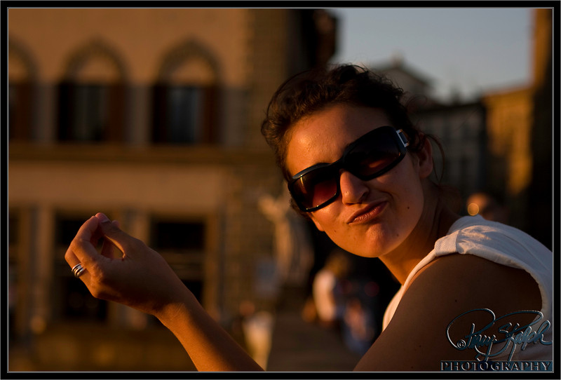 Lindsey in Florence