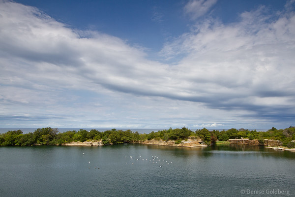 Halibut Point, quarry and ocean