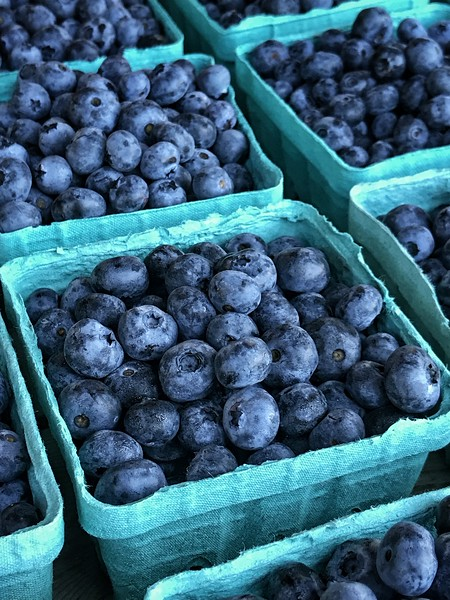Farmstand Blueberries