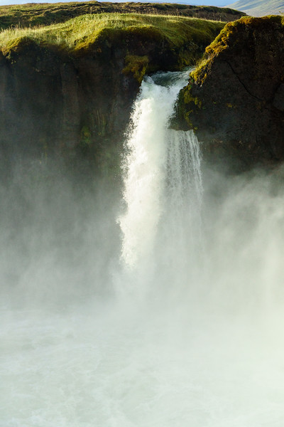 Godafoss waterfall in Iceland.