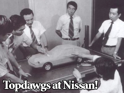Nissan Engineers discuss design of the 240Z