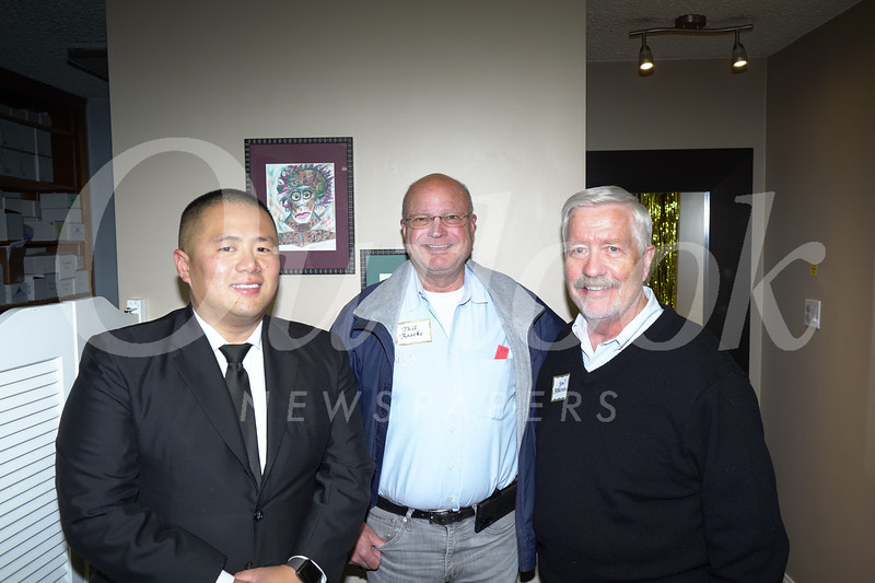 Ed Chen, Phil Raacke and Jim Anderson
