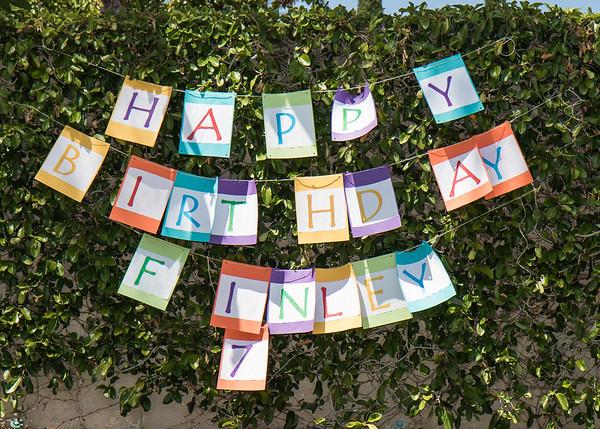 Finley's 7th Birthday