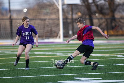 Soccer (JH) Scrimmage, March 8