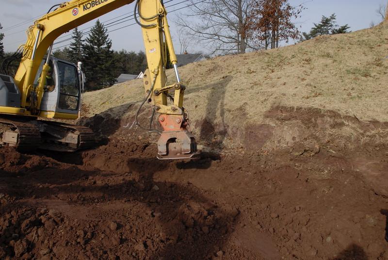 NPK C4C compactor on Kobelco 135SR mini excavator (1).JPG