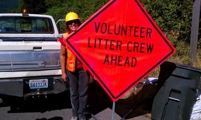 Roadside Cleanup Aug 25, 2012