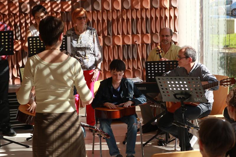 Concert à la marie