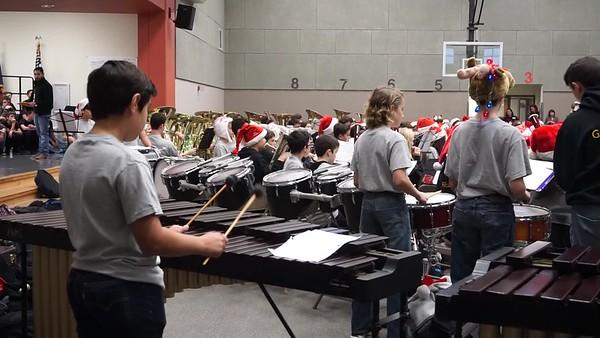 HMS Band performs at Reagan 2018