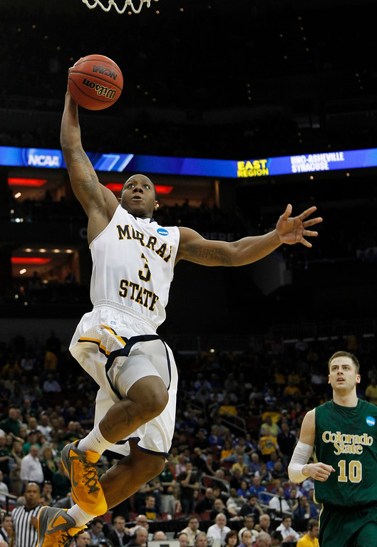 . <b>Isaiah Canaan </b> <br />Guard, 6-1, 195. Averaged 21.8 points and 4.3 assists as a senior last year at Murray State. Could be a perfect fit if the team decides to trade Eric Bledsoe. Aggressive scorer who sank 42 percent of his 3-pointers in college. Size could lead to defensive issues. (AP Photo/Dave Martin, File)