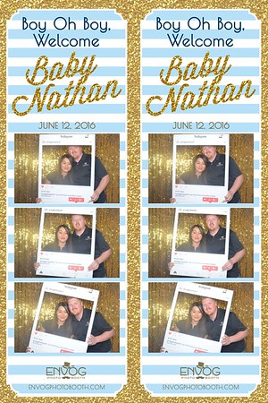 Welcome Baby Nathan (prints)