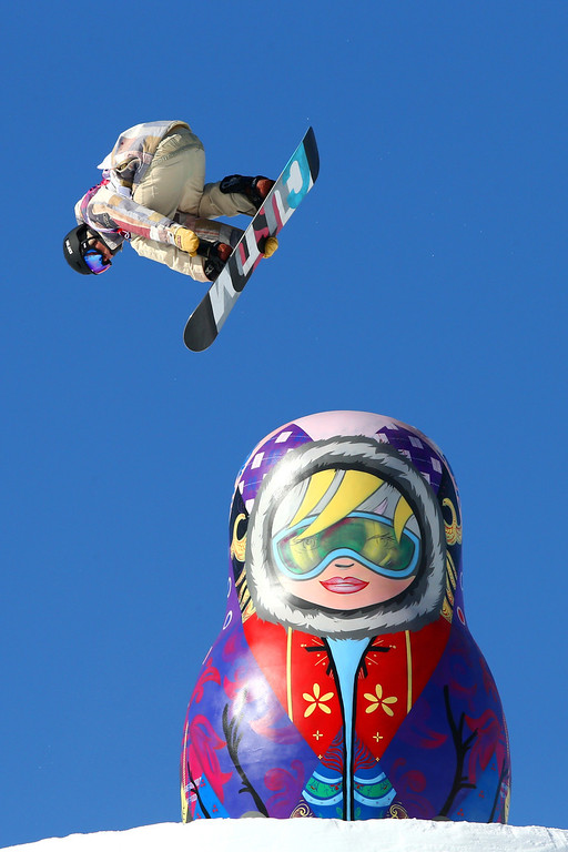 . Ryan Stassel of the United States competes in the Men\'s Slopestyle Qualification during the Sochi 2014 Winter Olympics at Rosa Khutor Extreme Park on February 6, 2014 in Sochi, Russia.  (Photo by Cameron Spencer/Getty Images)