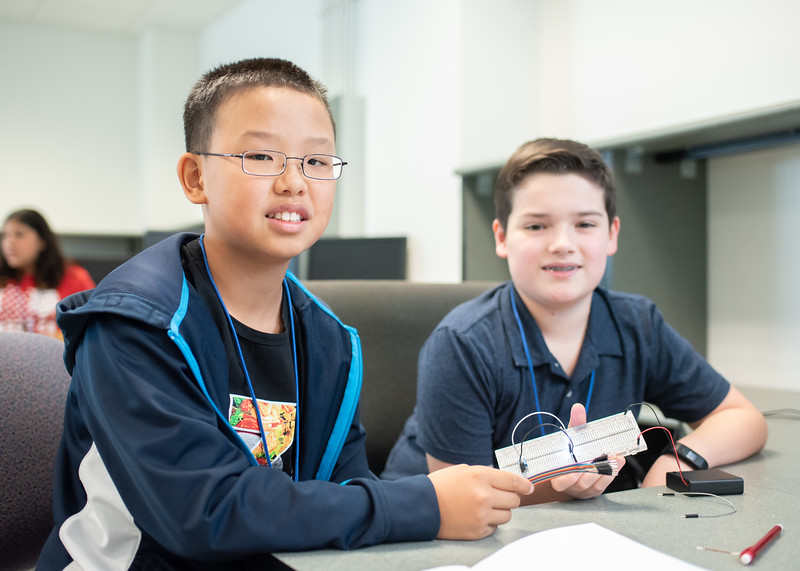 Alex Xie (Left) and Lucas Walker (Right)