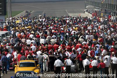 IRL IndyCar series at Californis Speedway Fontana
