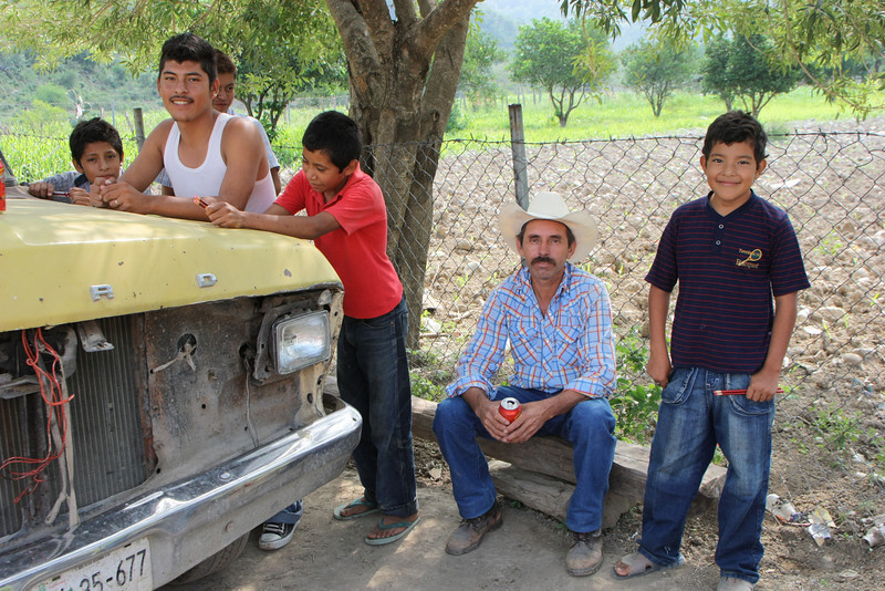Hanging out on a Friday in Rancho Viejo, nothing much to do.