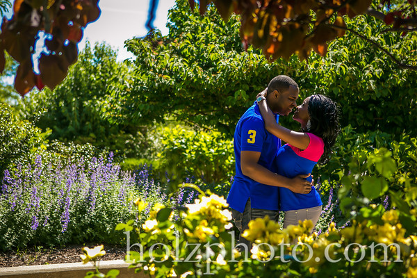 Yvonne and Tim Color Engagement photos