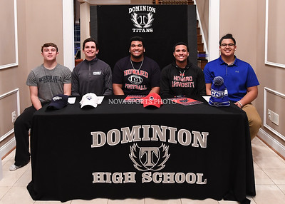Football: Dominion College Signing Ceremony 2.7.18