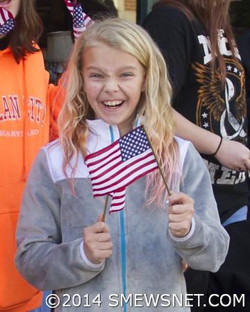 2014 Veterans Day Parade in Leonardtown